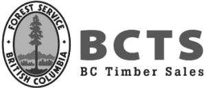 BC Timber Sales Logo - Gold and Legacy Sponsor