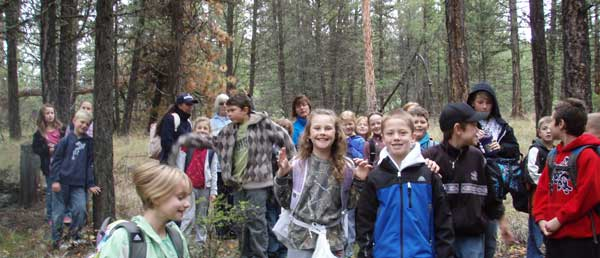 BCNFW Event: Cranbrook-kids learning value of BC's forests