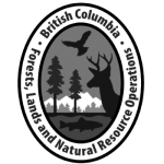 BC Ministry of Forests, Lands, and Natural Resources Logo - Platinum and Legacy Sponsor