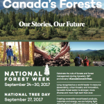 NFW poster 2017 English: Celebrating Canada's Forest