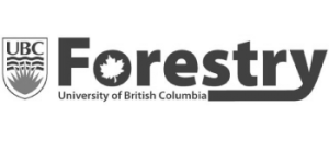 University of British Columbia Forestry Faculty Logo - Gold and Legacy Sponsor